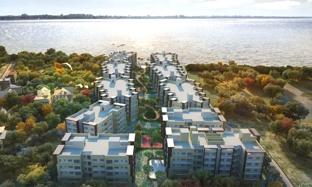 Best Riverside apartments in kolkata