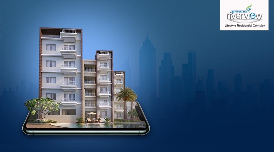 riverside flats in Barrackpore